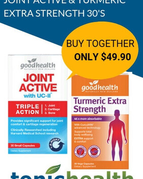 Bulk Buy Turmeric Extra Strength + Joint Active with UC-II