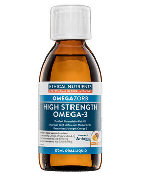 Hi Strength Liquid Fish Oil -Fruit Punch